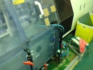 SR現像ライン最終水洗槽へ設置